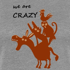 The crazy Bremen city musicians - Women's Premium T-Shirt