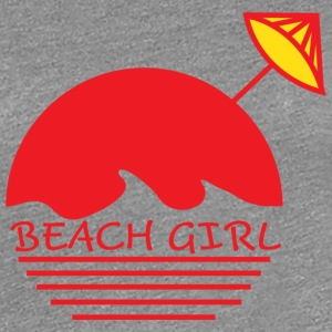 Beach Girl - Premium T-skjorte for kvinner