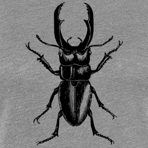 stag beetle - Women's Premium T-Shirt