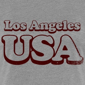 Los Angeles usa uni - Dame premium T-shirt