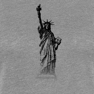 Around The World: Statue de la Liberté - New York - T-shirt Premium Femme
