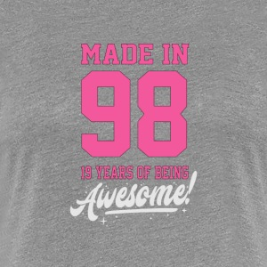 MADE IN 1998 - 19th BIRTHDAY