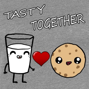 Milk and Cookie Tasty Together Kawaii