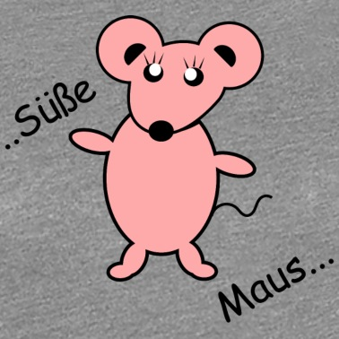 Süße Maus Frauen Premium T Shirt Spreadshirt