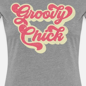 Groovy Chick Shirt anni 70 Party Birthday