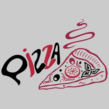 Lustiges Pizza Essen Liebe Gedicht Fun Geschenk Frauen Premium T Shirt Schwarz