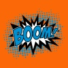 BOOM!, Comic Style Speech Bubble Bang, Kapow, Pow - Frauen Premium T-Shirt
