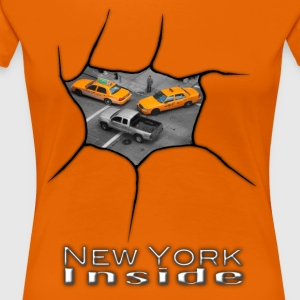 New York inuti - Premium-T-shirt dam