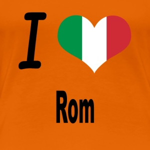 I Love Italy Home Rome - Women's Premium T-Shirt
