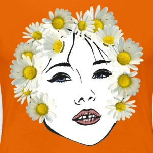 Flower girl dyed - Women's Premium T-Shirt