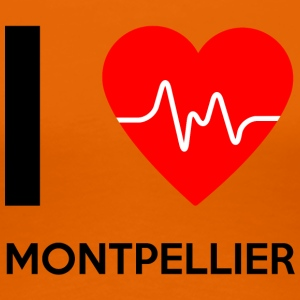 I Love Montpellier - I love Montpellier - Women's Premium T-Shirt