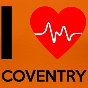 J'aime Coventry - I Love Coventry - T-shirt Premium Femme