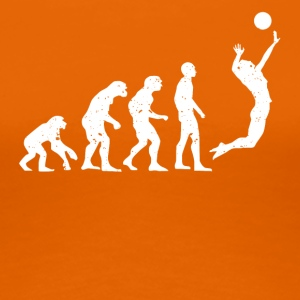 VOLLEYBALLEVOLUTION! - Frauen Premium T-Shirt
