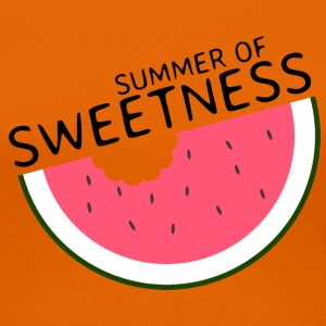 Summer of sweetness / Wassermelone / Sommershirt - Frauen Premium T-Shirt