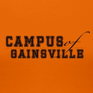 Campus of Gainsville - Frauen Premium T-Shirt