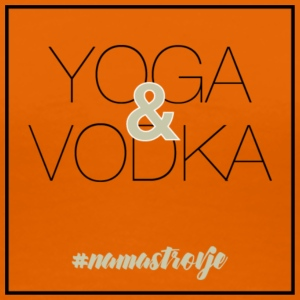 YOGA & VODKA - Women's Premium T-Shirt