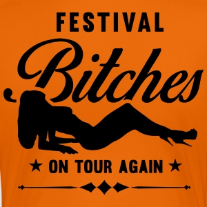 Festival Bitches on Tour weer - Festival - Vrouwen Premium T-shirt
