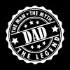 Dad-The Man The Myth The Legend - Women's Premium T-Shirt