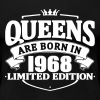 Queens are born in 1968 - Women's Premium T-Shirt