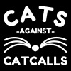 Cats Against Catcalls - Dame premium T-shirt