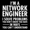 Geek Network Engineer Solve Problems - Camiseta premium mujer
