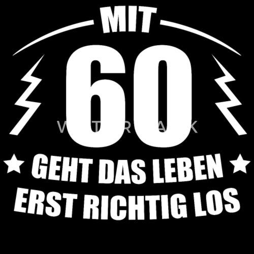 60. GEBURTSTAG Geschenkidee Spruch Lustig Witzig Frauen ...