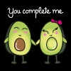 You Complete Me (Avocado) - Frauen Premium T-Shirt