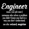 Geek | Engineer - Definition - Vrouwen Premium T-shirt