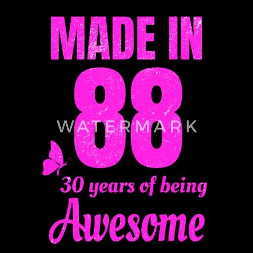 verjaardag 30 vrouw 30 jaar oude verjaardag voor geweldige vrouw van shrooom | Spreadshirt verjaardag 30 vrouw