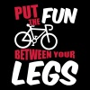 Put the fun between your legs - Koszulka damska Premium