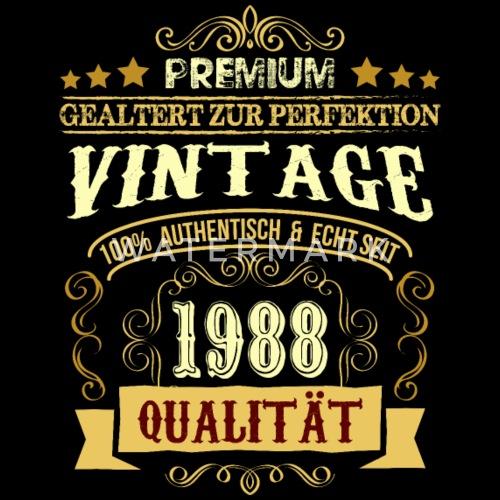 30 Geburtstag Shirt Geschenk Lustig Vintage Frauen Premium T Shirt
