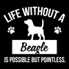 Dog shirt: Life without a Beagle is pointless - T-shirt Premium Femme