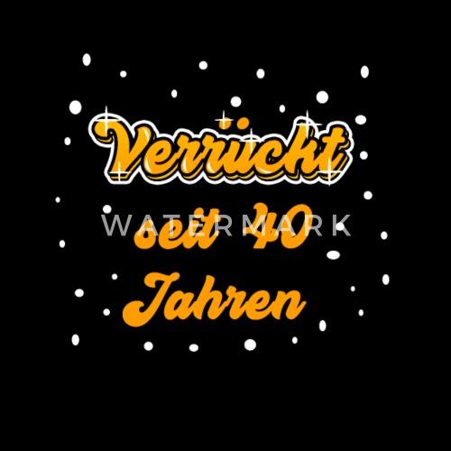 40 Geburtstag Shirt Geschenk Lustig Frau Frauen Premium T Shirt