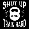Shut Up And Train Hard - Women's Premium T-Shirt