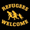 Refugees Welcome - Camiseta premium mujer