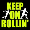 Keep on rollin' - Women's Premium T-Shirt