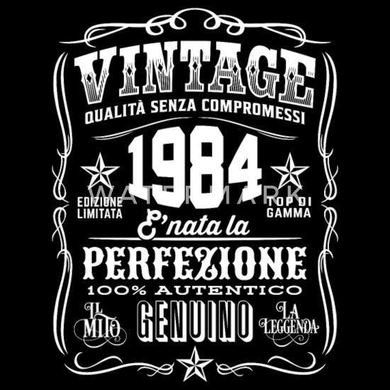 Best of 1984 Regalo Vintage 36 Anni 36 Compleanno Donna Uomo Canotta