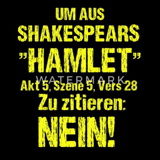 Shakespeare Hamlet Zitat Frauen Premium T Shirt Spreadshirt