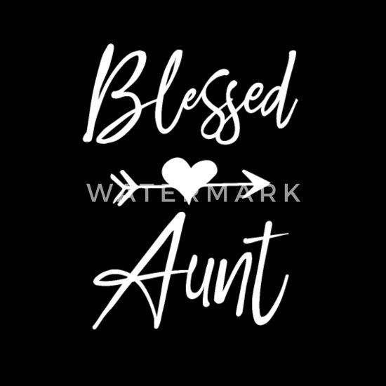 blessed aunt nephew niece heart Women's Premium T-Shirt