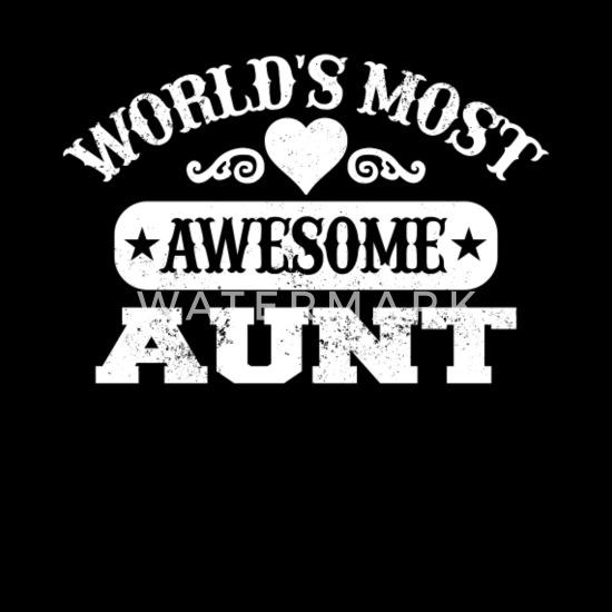 Grappige Tante Shirt Beste Tante In De Wereld Geschenk