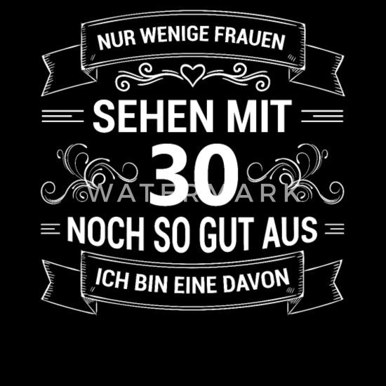 Sexy Vrouw Met 30 Jaar Cadeau Vrouwen Premium T Shirt