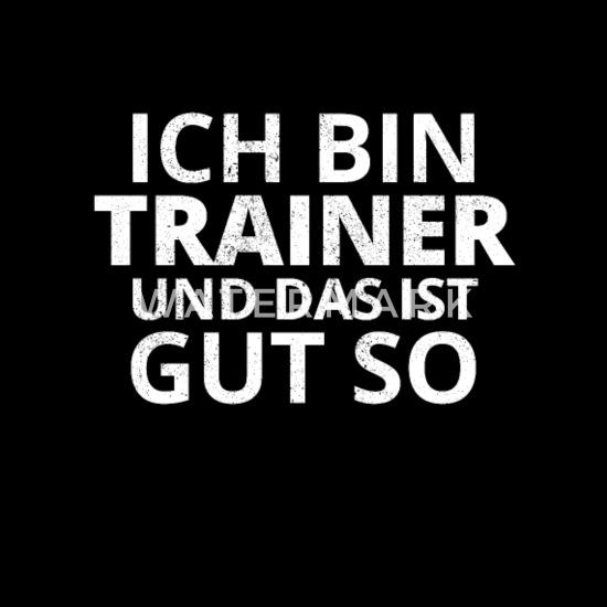 Trainer Lustig Geschenk Spruch Weihnachten Frauen Premium T