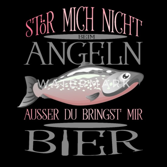 Angler Fischer Spruch Frauen Premium T Shirt | Spreadshirt