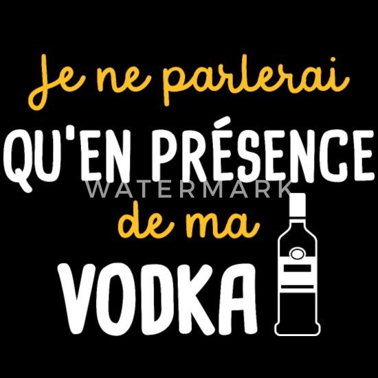 Vodka Humour Alcool Cadeau Drole Humour T Shirt Premium Femme Spreadshirt
