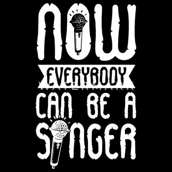 Bestill Mikrofon Synge Gaver på nett | Spreadshirt