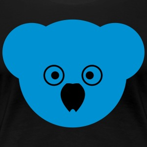 KOALA blue - Women's Premium T-Shirt