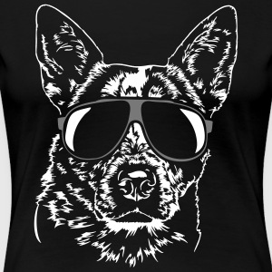 AUSTRALIAN CATTLE DOG - HEELER cool - Women's Premium T-Shirt