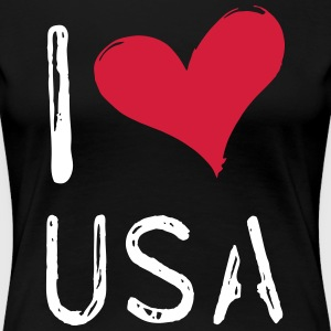 I love the USA - Women's Premium T-Shirt