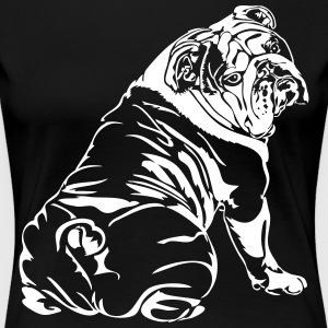 Bulldog Anglais - English Bulldog - T-shirt Premium Femme