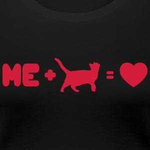 I love my cat - Frauen Premium T-Shirt